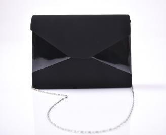 Абитуриентска чанта еко набук черен 3