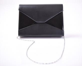 Абитуриентска чанта еко кожа черен
