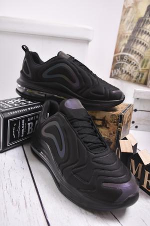 Мъжки спортни обувки текстил черни