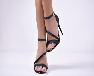 Дамски  елегантни сандали  сребристи