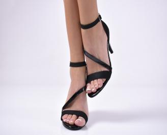 Дамски елегантни сандали  черени