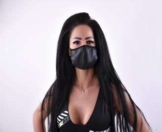 Дизайнерска модна маска за многократна употреба 3