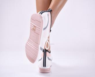 Дамски спортни  обувки  розови 3