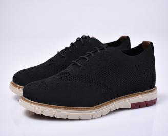 Мъжки  ежеднивени обувки черни
