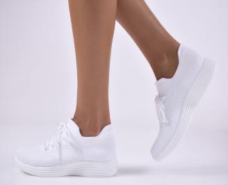 Дамски спортни обувки бели.