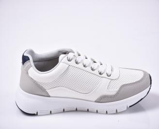 Мъжки спортни обувки бели