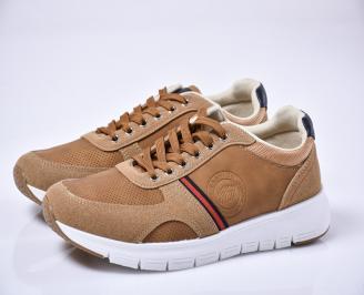 Мъжки спортни обувки кафяви