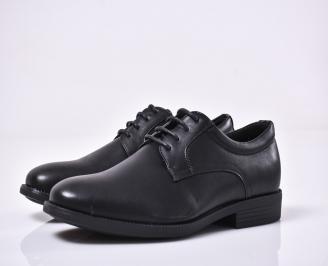 Мъжки официални обувки черни