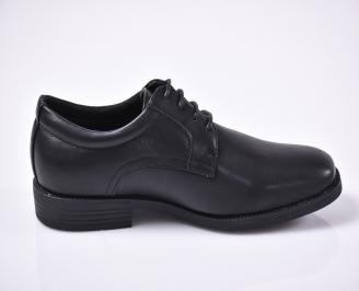 Мъжки официални обувки черни 3