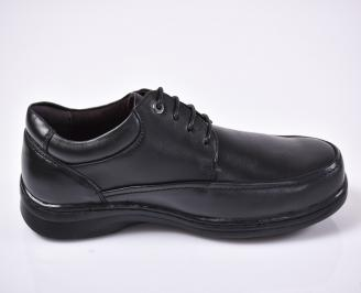 Мъжки ежедневки обувки черни 3