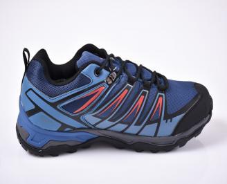 Мъжки маратонки сини 3