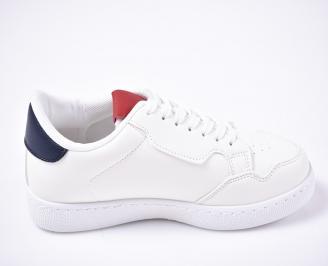 Мъжки спортни обувки бели 3