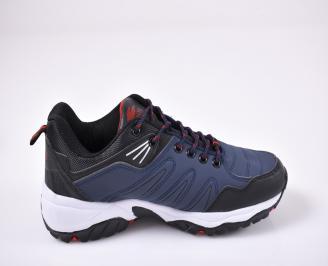 Мъжки спортни обувки сини 3