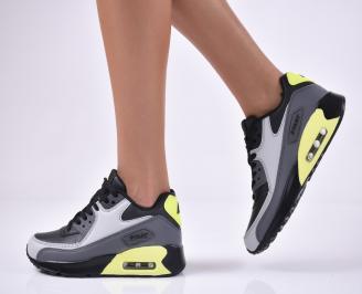 Дамски спортни  обувки  сиви