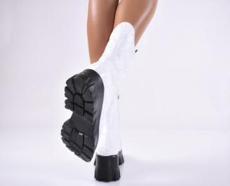 Дамски ежедневни боти бели