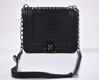 Дамска чанта черна 3