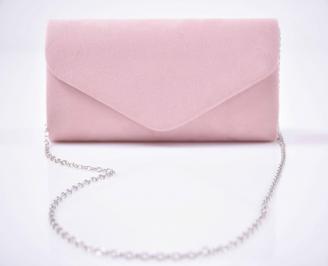 Елегантна чанта пудра