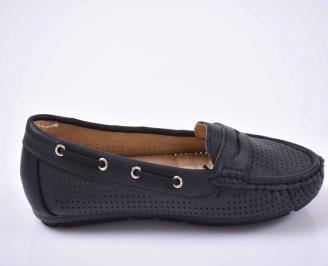 Дамски равни обувки черни