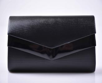Елегантна абитуриентска чанта кожа черна  EOBUVKIBG