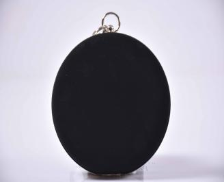 Елегантна абитуриентска чанта велур черна EOBUVKIBG