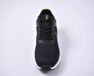 Мъжки маратонки черни ЕOBUVKIBG