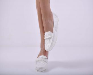 Дамски ежедневни обувки бели EOBUVKIBG
