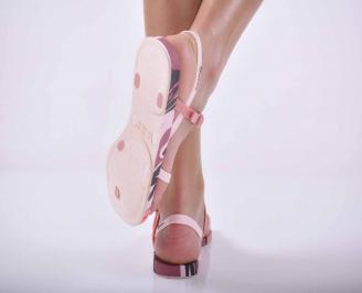 Дамски сандали IPANEMA силикон пудра 3