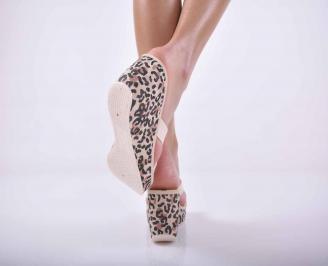Дамски чехли IPANEMA силикон бежови
