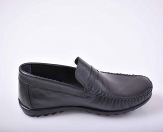 Мъжки обувки Гигант естествена кожа черни
