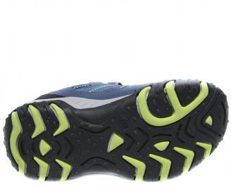 Детски обувки Bulldozer тъмно сини еко кожа