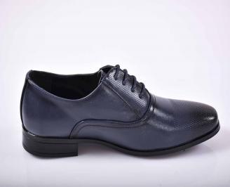 Мъжки официални обувки  сини EOBUVKIBG 3