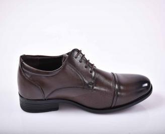 Мъжки официални обувки  кафяви EOBUVKIBG 3
