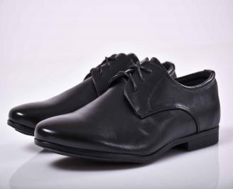 Юношески официални  обувки черни  EOBUVKIBG