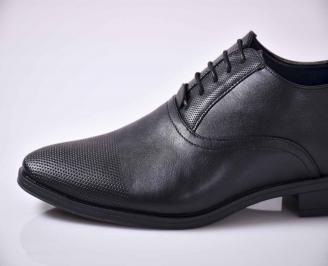 Мъжки официални обувки черни EOBUVKIBG