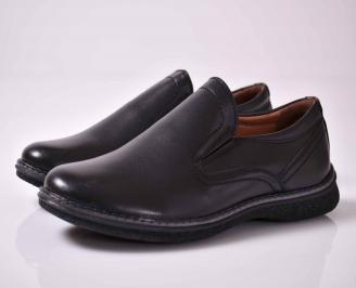 Мъжки ежедневни обувки черни EOBUVKIBG