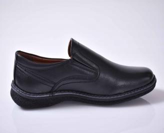 Мъжки ежедневни обувки черни EOBUVKIBG 3