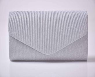 Елегантна абитуриентска чанта сребриста EOBUVKIBG