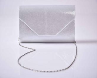 Елегантна абитуриентска чанта бяла EOBUVKIBG