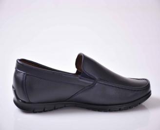 Мъжки спортно елегантни обувки сини EOBUVKIBG