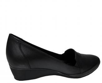 Дамски обувки -Гигант естествена кожа черни 3