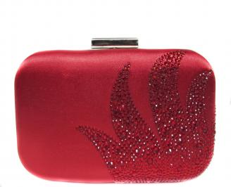 Абитуриентска чанта  червен текстил