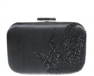 Абитуриентска чанта  черен текстил