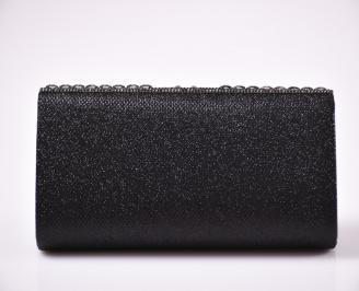 Абитуриентска чанта  черен текстил 3