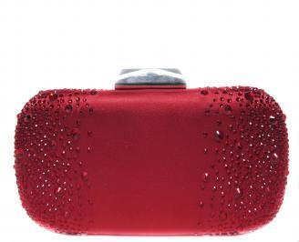 Абитуриентска чанта  червен сатен