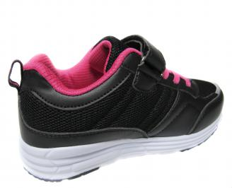 Детски обувки Bulldozer еко кожа,текстил черно 3