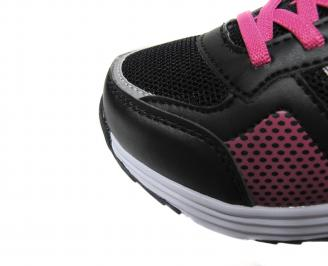 Детски обувки Bulldozer еко кожа,текстил черно