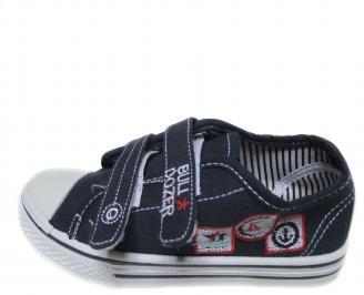 Детски обувки Bulldozer текстил тъмно сини