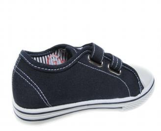 Детски обувки Bulldozer текстил тъмно сини 3