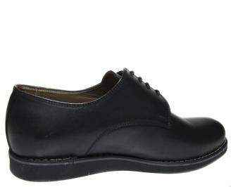 Мъжки обувки-Гигант естествена кожа черни 3