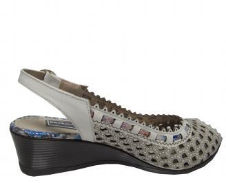 Дамски сандали -Гигант естествена кожа бежови 3